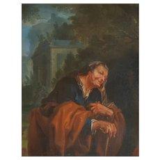 17th Century Mythological Painting, Circle of Joachim von Sandrart