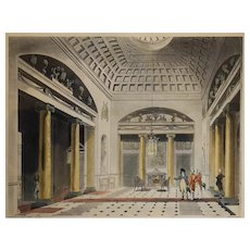 Print of Thomas Rowlandson & August Pugin, 1808 Ackermann's Microcosm