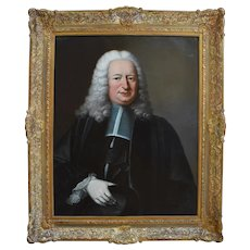 Charles Baziray – Portrait of a Magistrate – 1747