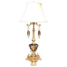 1960's Dale Tiffany  & L&L WMC Table Lamp