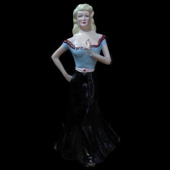 1959 Palmer-Pann Jane Mansfield - esque figurine