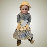 Antique German Bisque Armand Marseilles Nurse Doll Composition Body Original Nurse Clothing