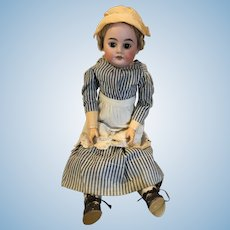 Antique German Bisque Armand Marseilles Nurse Doll Composition Body Original Nurse Clothing