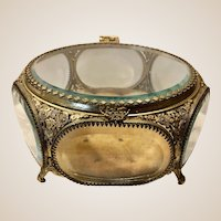 Fabulous Large Matson Ormolu Jewelry Casket