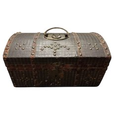 Early 18-19th Century Document Box, New England Antique