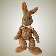 Vintage mohair floppy Easter rabbit bunny