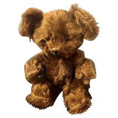Vintage American Knickerbocker Mohair Teddy Bear