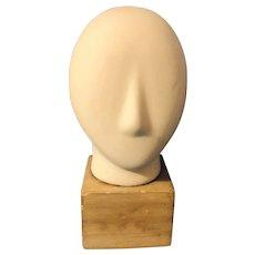 Mic-century Modern Cycladic Head Sculpture