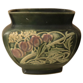 Early Roseville Rosecraft Panel Pillow Vase