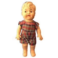 Precious Vintage 40/50s Soft Rubber Boy Doll