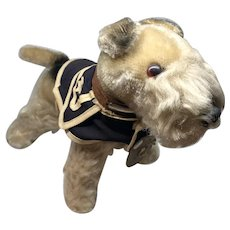 Vintage Pepe French Sailor Schnauzer Plush Gund Japan