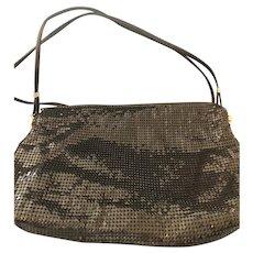 Vintage Never Used Whiting & Davis Mesh Disco Clutch Shoulder Bag