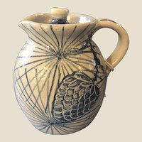 Dorchester Pottery Pinecone Syrup Milk Jug 1970s CAH