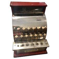 Vintage Junior Merchant Toy cash register Kamkap Inc.