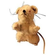 Vintage Steiff Pieps Tiny White Mouse