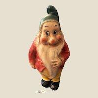 Vintage 1940s Disney Bashful Dwarf Composition Figure Snow White