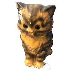 Sweetest 1930s Chalkware Kitty Cat Figure Carnival Prize