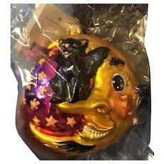 Christopher Radko Halloween Fright On the Nose Ornament, NRFP, Tag, Box, Retired