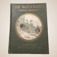 First Edition Antique Book The Water Babies C Kinglsey Illustrated by Jessie Willcox Smith 1916