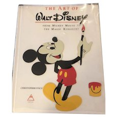 1st Edition The Art of Walt Disney C. Finch 1973 Collector's Edition