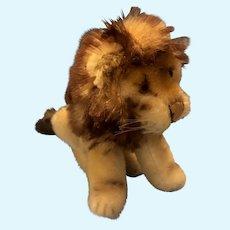 Sweetest Vintage Steiff Small Sitting Lion 0820/12