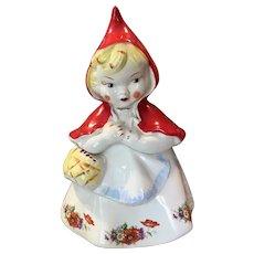 Vintage Hull Little Red Riding Hood Cookie Jar