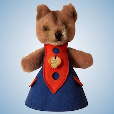 Sweet Steiff Nightcap Teddy Betthupferteddy 1969-74