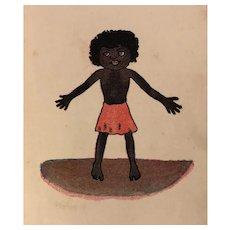 Antique Early Little Black Sambo Book 1900