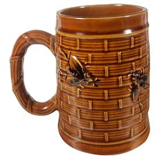 Vintage Majolica Mug