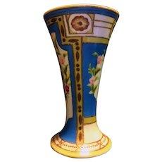 Noritake Art Deco Style Vase with Komaru Mark