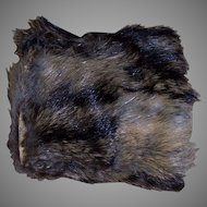 A Small Antique Fur Fashion Muff