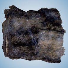 A Small Antique Fur Fashion Muff