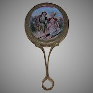 A Lovely French Fashion Hand Mirror