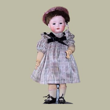 Charming Bahr & Proschild Antique German Character Toddler Doll - 12 Inches!