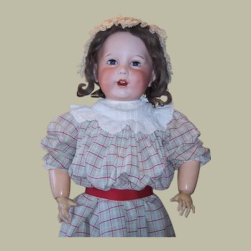 LARGE 27 inch Antique SFBJ 251 Character Toddler