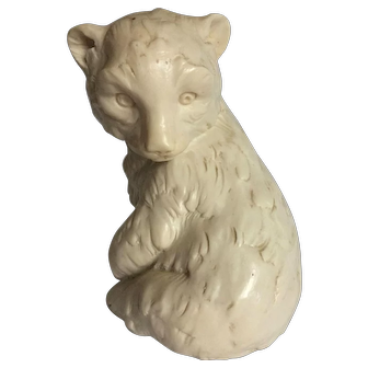 Classic Figurine A. Santini,Sculptor Bear Made in Italy
