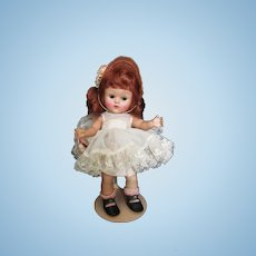 Darling Strung Redhaired Ginny Doll  All Original 1950's By Vogue Doll Co