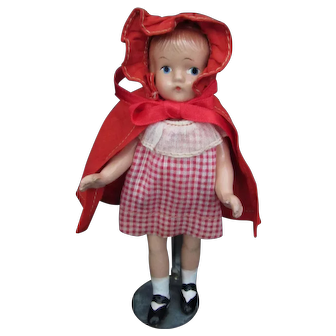 """Wee Patsy (Colleen Moore) Doll By Effanbee 6"""" tall All Original 1935"""