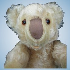 HTF Steiff Koala bear largest size 35cm Glass Eyes  1955-58