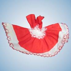 Bild Lilli Vintage Red  CottonDoll Dress By Jeanie Kay