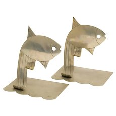 Hagenauer Fish Bookends