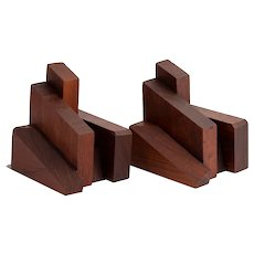 Ken Krafted American Studio Architectural Bookends