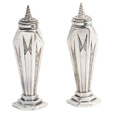Sunray Weidlich Brothers Silver Salt and Pepper Shakers