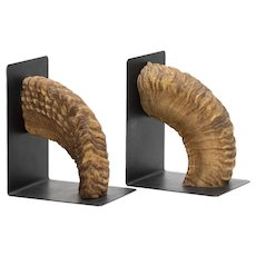 Carl Aubock Horn Bookends