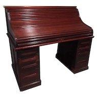 1880's Roll Top Cherry Desk
