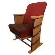 Art Deco Free Standing Theater Chairs