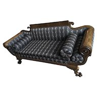19th Century Elegant Empire Parlor Sofa