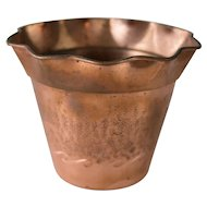Vintage French Copper Planter Jardiniere