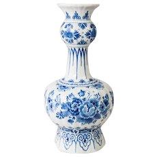 Large Delft Dutch Faience Knobble Vase