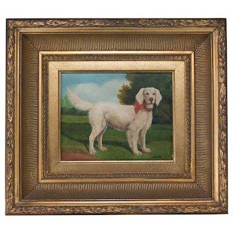 Dog Portrait Oil Painting